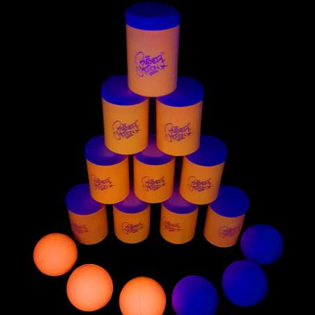 Set de Boites en Mousse Fluorescent
