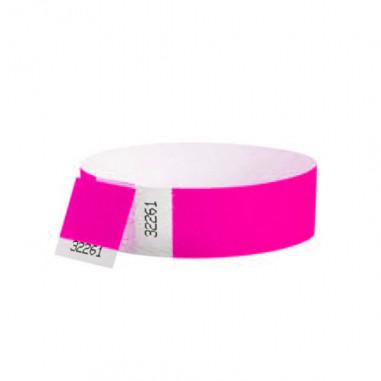 Armband Tyvek Neon - Lot von 10