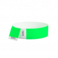 Bracelet Tyvek Fluo - Lot de 10