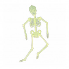 Petit Squelette Articulé Phosphorescent
