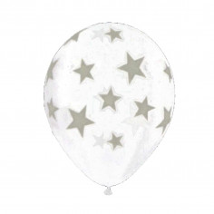 Ballon Phosphorescent Etoiles - Lot de 25