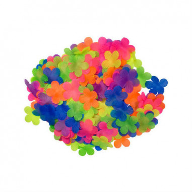 Confettis Fleurs Fluo