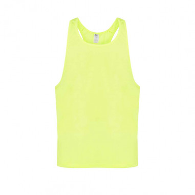 Tank-Top Neon-Summer-Party Gelb