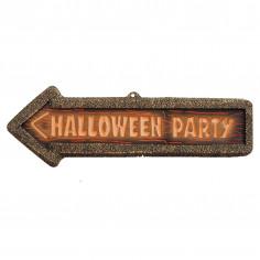 Panneau Fluo Halloween Party
