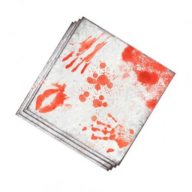 Handtücher Blut auf Papier - 20 stück