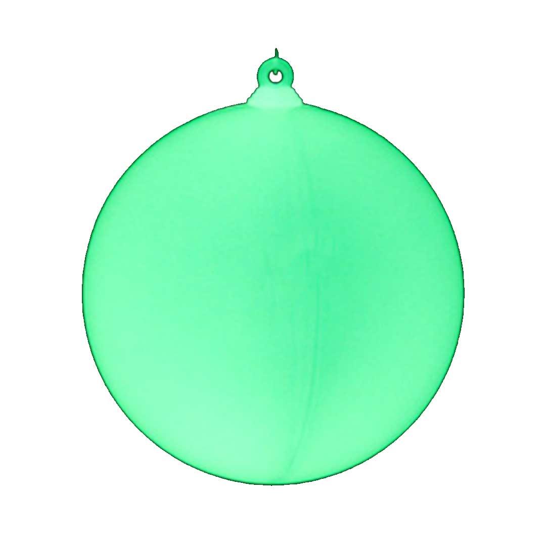 Boule de Noël phopshorescente   Couleur de Nuit