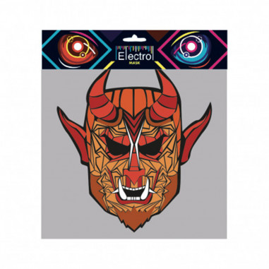 Masque Led Sound Control Diable