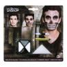 Kit de Maquillage Tête de Mort