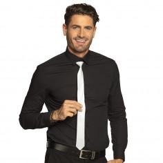 Krawatte Fluo Weiß