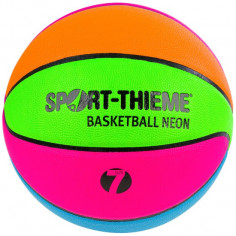 Ballon de Basket Multicolore Fluo