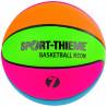Ballon de Basket Multicolore Fluo