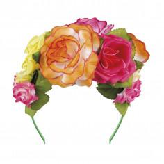 Serre-Tête Roses Multicolores