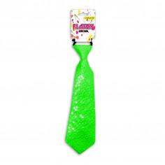 Krawatte Fluo mit Pailletten