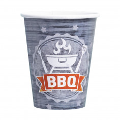 Gobelet BBQ Party - Lot de 8