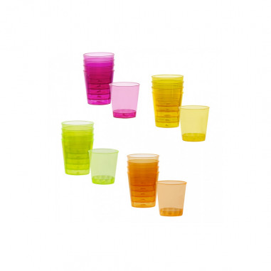 Shooters Fluo - Lot de 20