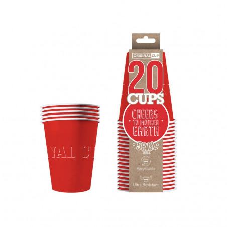 Red Cup 53cl - 20 stück