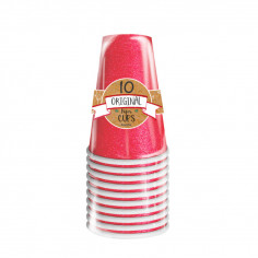 Gobelet Scintillant Rouge 50 cl - Lot de 10