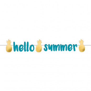 Guirlande Hello Summer