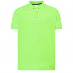 Polo Homme Vert Fluo