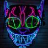 Masque Led Crazy Cat
