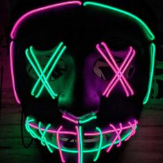 Mehrfarbige LED-Spülmaske