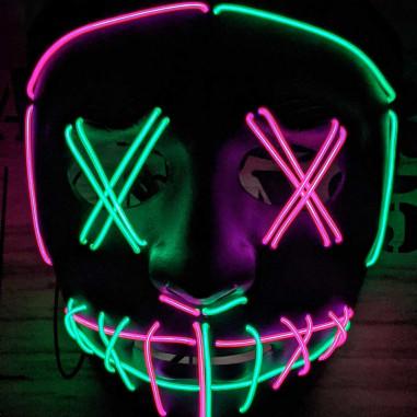 Masque Purge Led Multicolore