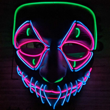 Masque Led Démon