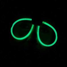 Leuchtende Gläser