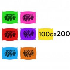 Poudre en 100 g - Lot de 200 Sachets