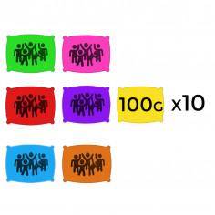 Poudre en 100 g - Lot de 10 Sachets