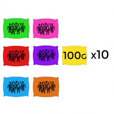 Poudre en 100 g - Lot de 400 Sachets