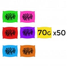 Poudre en 70 g - Lot de 50 Sachets