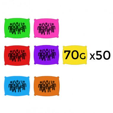 Poudre en 70 g - Lot de 400 Sachets