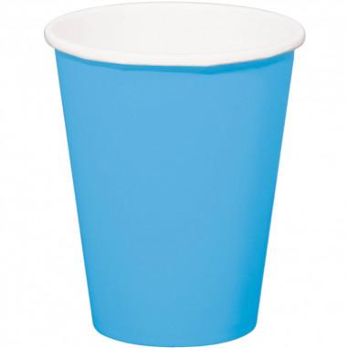 Gobelet Bleu Bébé - Lot de 8