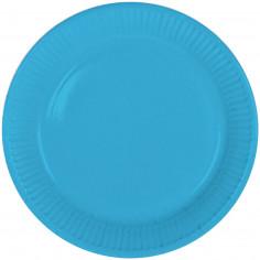 Assiette Bleue - Lot de 8