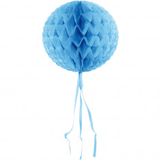 Suspension bleue alvéolée