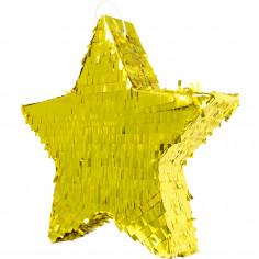 Pinata étoile dorée