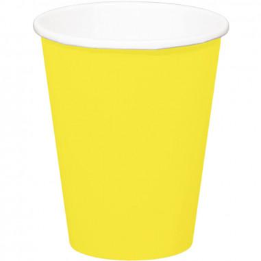 Goebelet jaune - Lot de 8