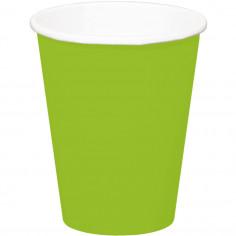 Gobelet vert - Lot de 8