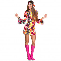 Hippie Groovy Kleid