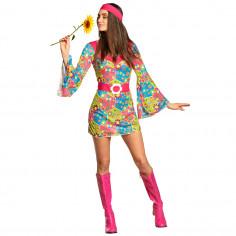 Hippie-Blumenkleid