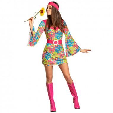Robe Hippie Fleurs