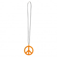 Halskette Neon Peace & Love