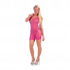 Kleid Netz Neon