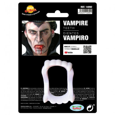 Zähne Vampir-Fluo