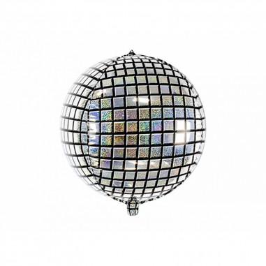 Ballon aluminium boule à facettes