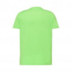 T-Shirt Mit Neon-Grünen Mann