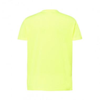 T-Shirt Mann Fluo Gelb