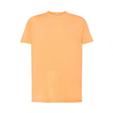 T-Shirt-Fluo Orange Mann