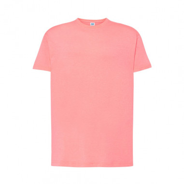T-Shirt Fluo Homme Rose